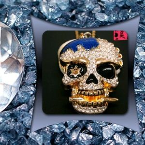 Betsey Johnson Skull Necklace